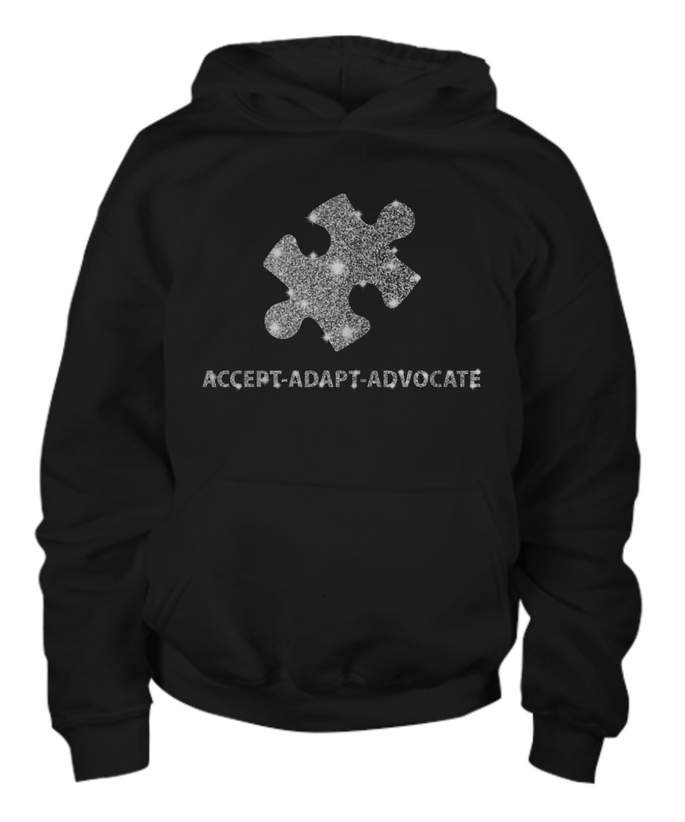 Accept adapt advocate hoodie