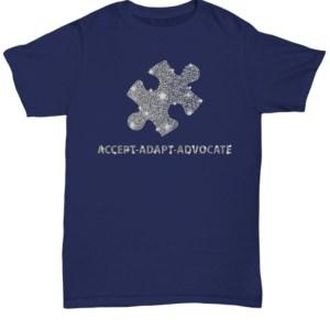 Accept adapt advocate shirt