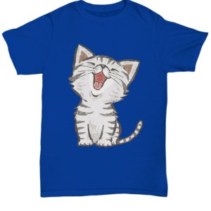 American Shorthair happy cat shirt