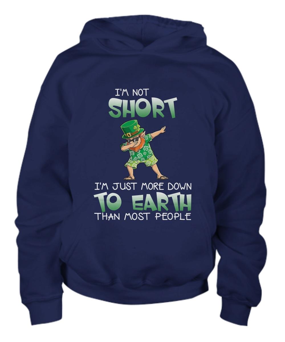 Leprechaun Iris dabbing I'm short I'm just more down to earth than most people hoodie