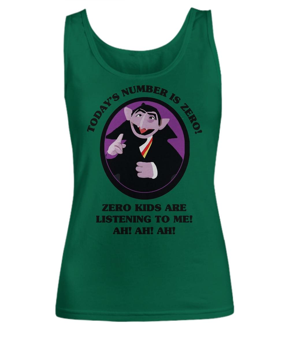 Today's number is zero zero kid are listening to me ah ah ah tank top