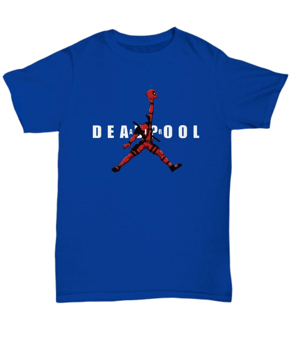 Deadpool Michael jordan jumpman shirt
