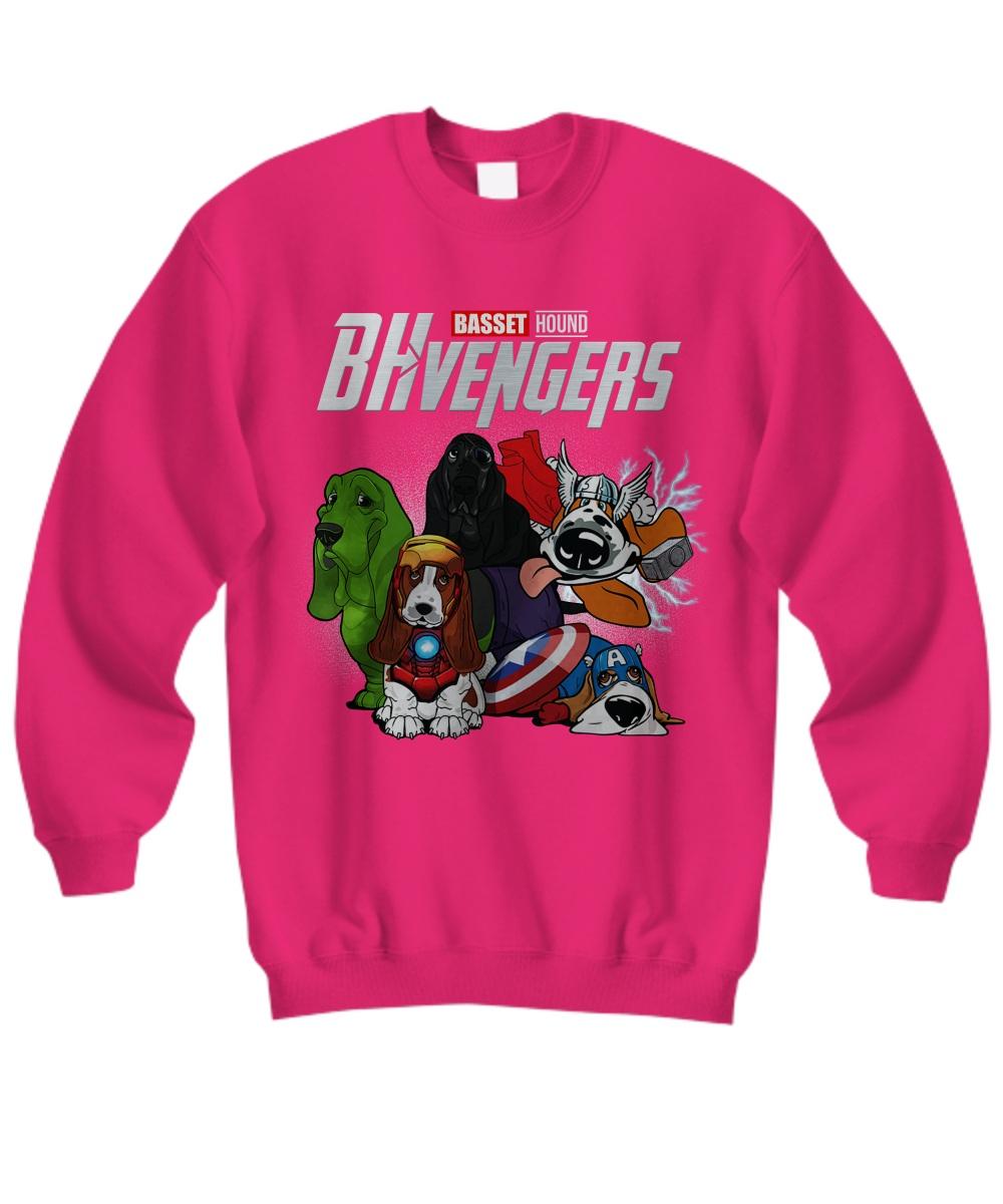 Basset hound avengers Sweatshirt