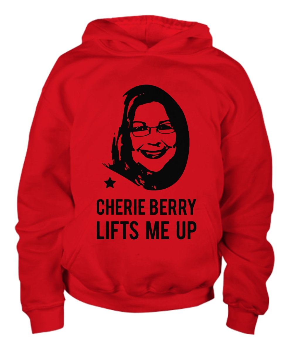 Cherie Berry Lifts me up Youth Hoodie