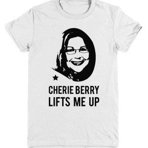 Cherie Berry Lifts me up Youth Tee
