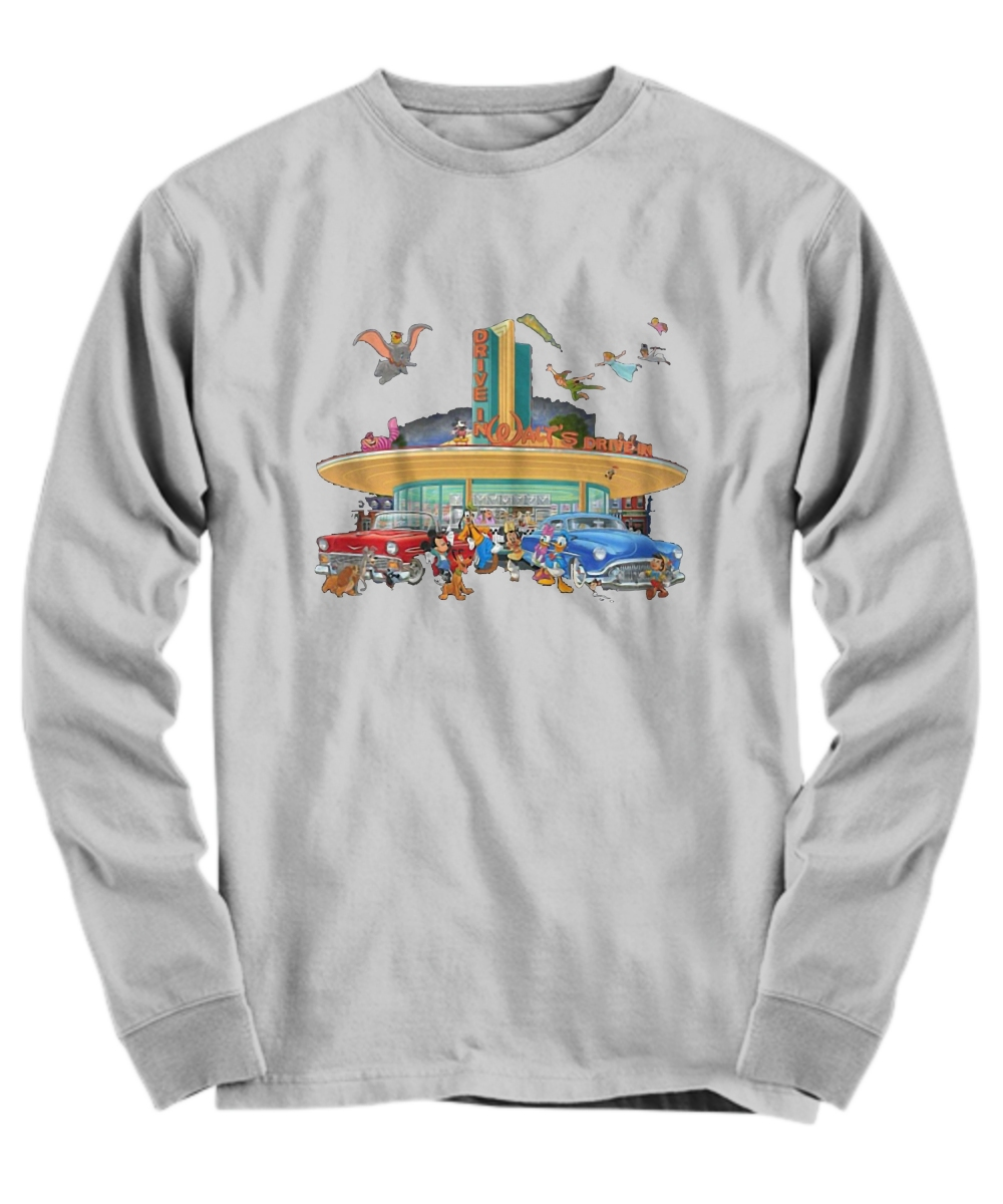 Disney drive in walt's Long sleeve Tee