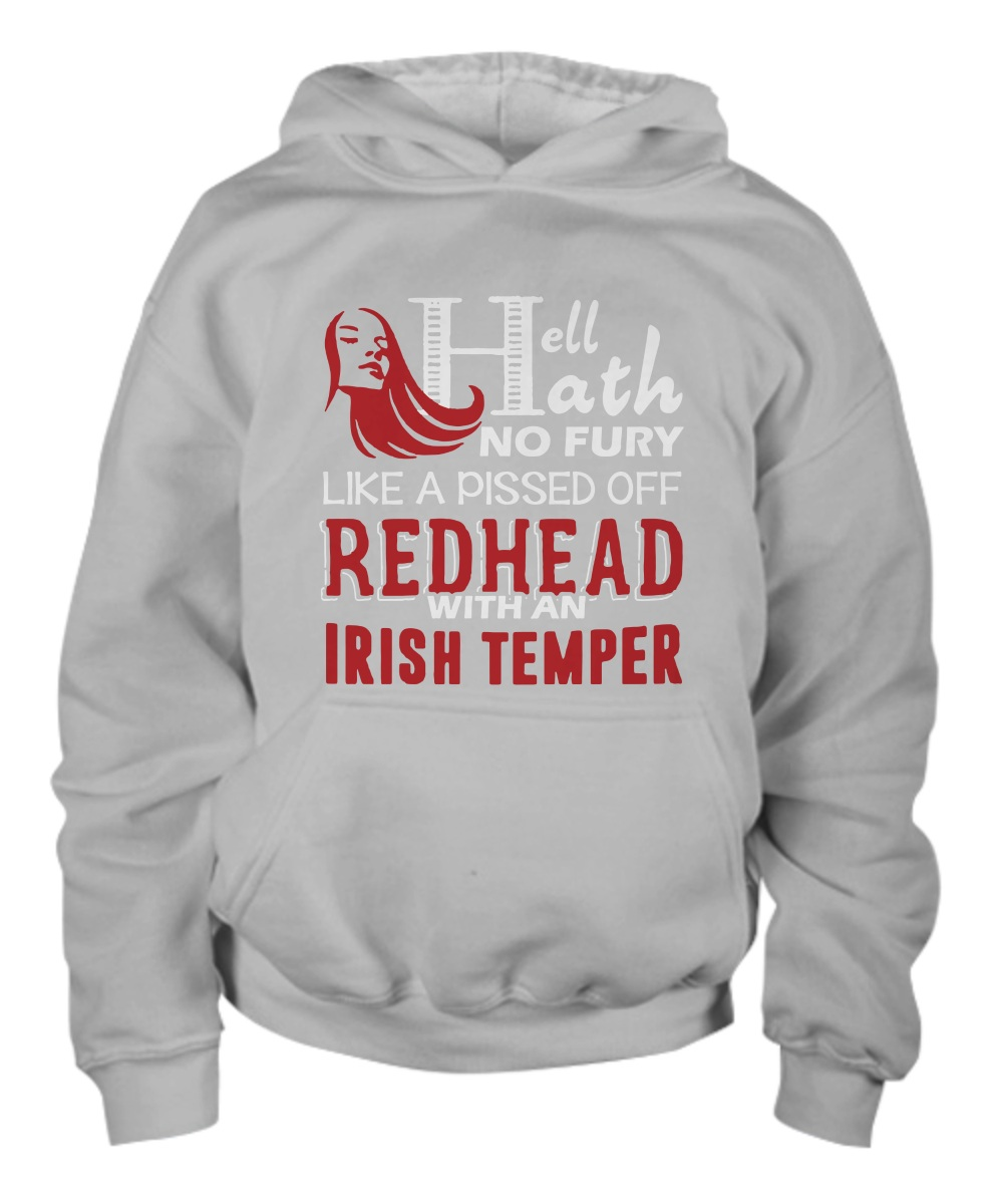 Hell Hath No Fury Like A Pissed Off Redhead Men Hoodie