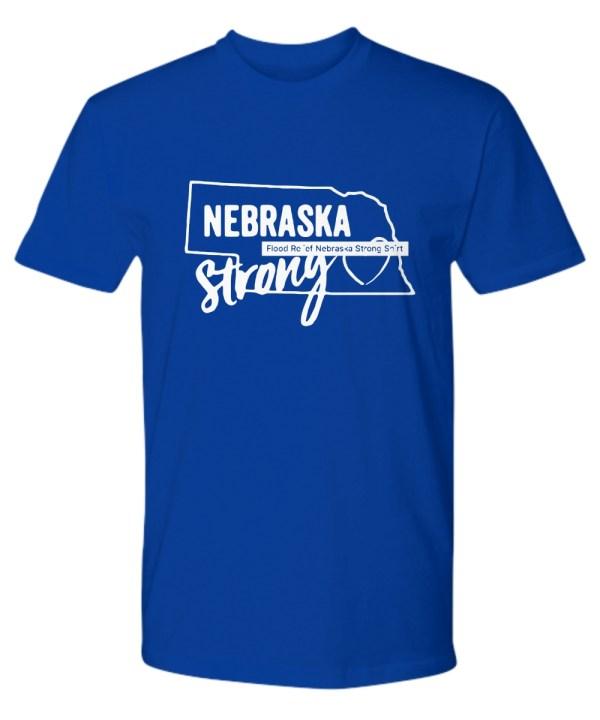 Nebraska Strong Nebraska Strong Flooding Premium Tee