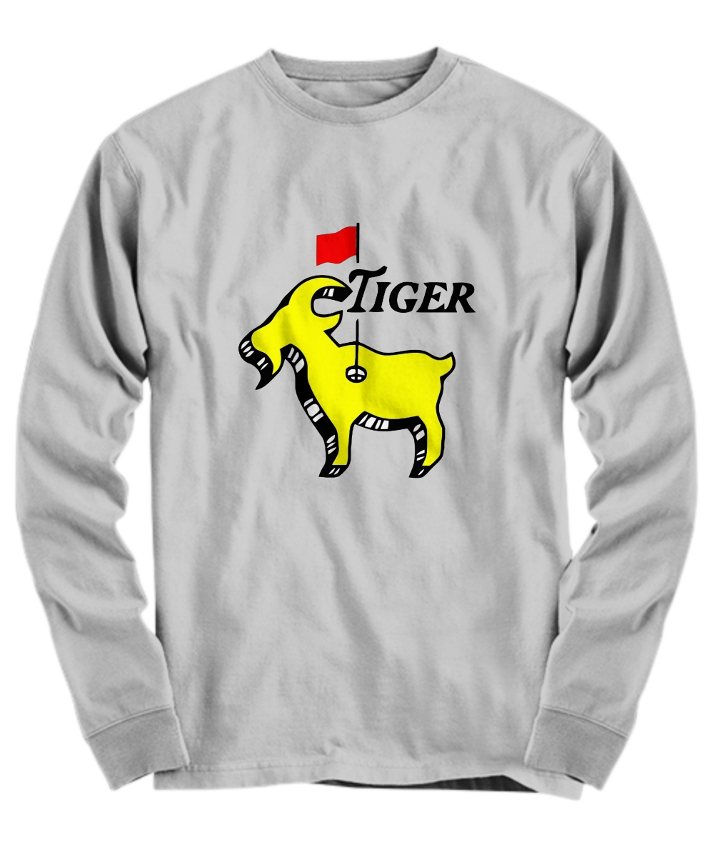Tiger woods goat masters Long Sleeve Tee