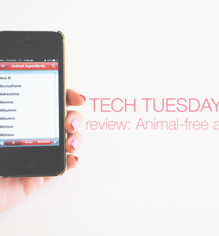 Tech Tuesdays: Review of Animal-Free Mobile App