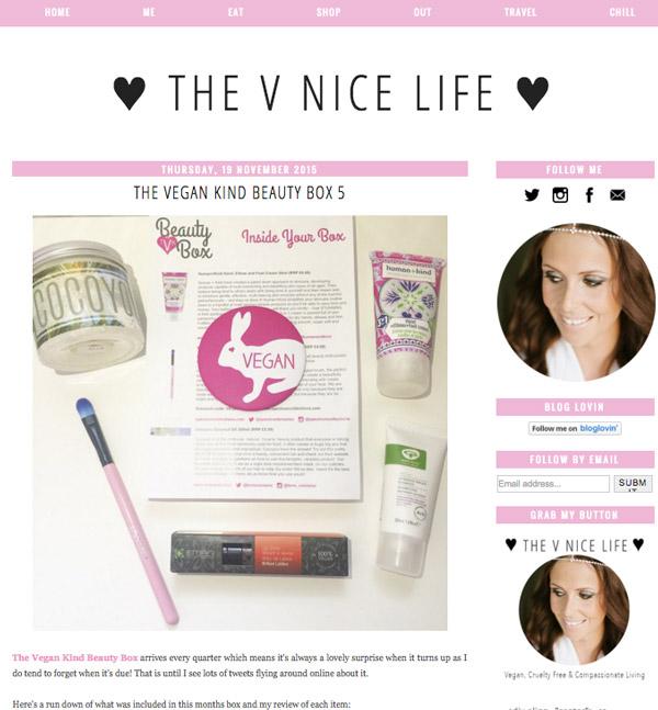 cruelty free blog - The V Nice Life