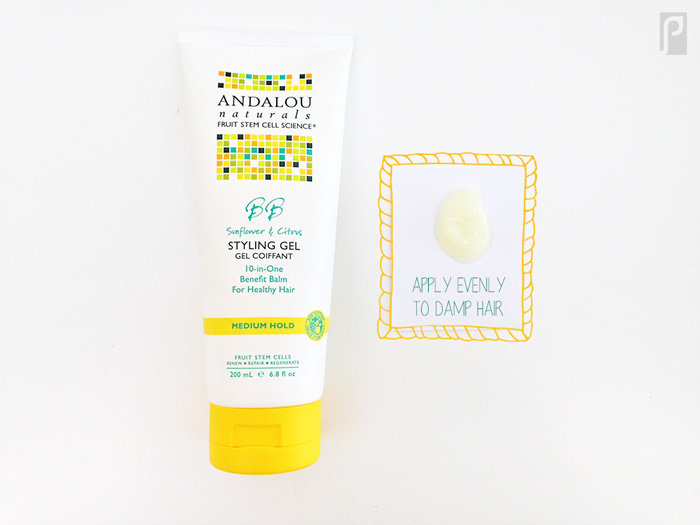 Andalou Natural's 10-in-One Benefit Balm for Healthy Hair Styling Gel Review