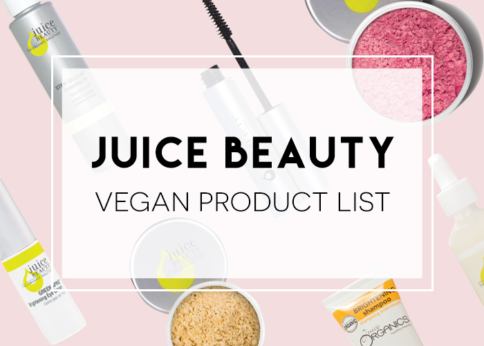 Juice Beauty Vegan