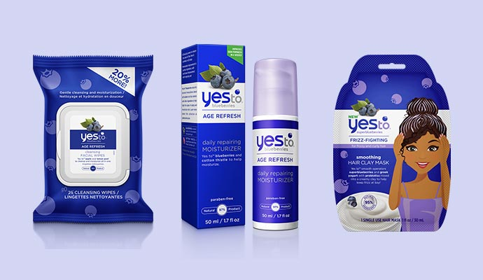 Yes to Blueberries - Vegan Product List