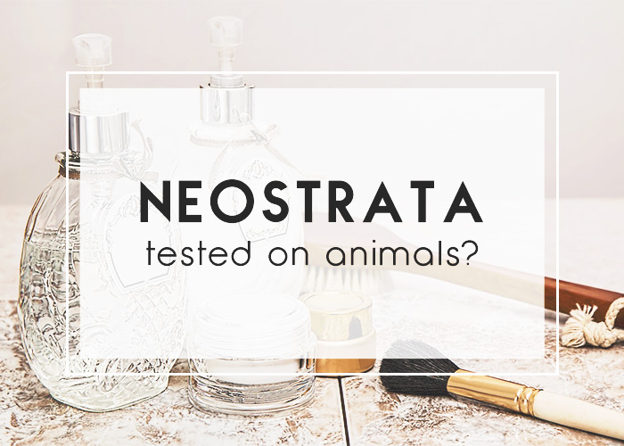 Does NeoStrata Test On Animals?