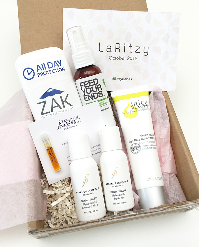 LaRitzy is a cruelty-free and vegan monthly subscription box