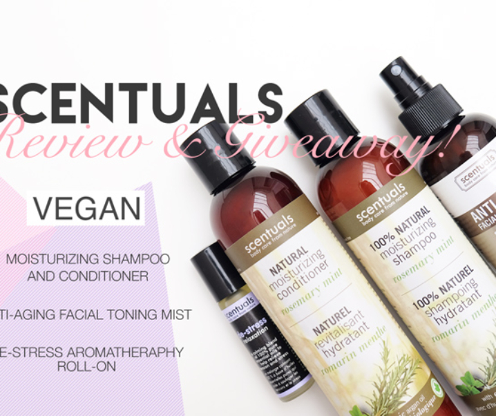 Scentuals Natural Products Review + Giveaway! {CLOSED}