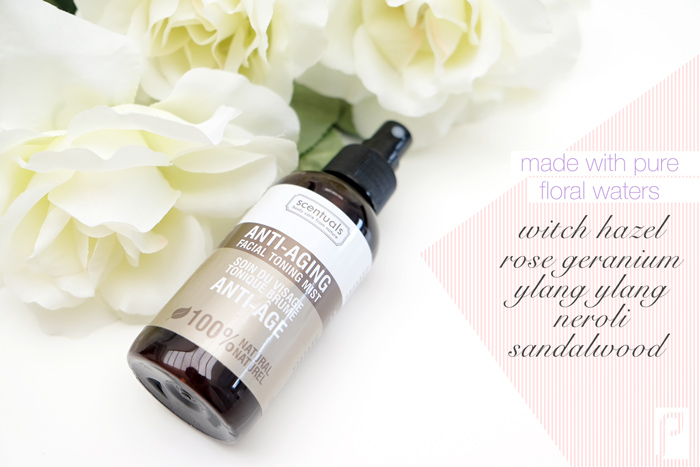 Scentuals anti-aging facial toning mist review
