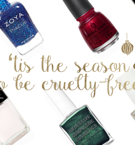 Get into the Holiday Season with These Cruelty-Free & Vegan Nail Polish