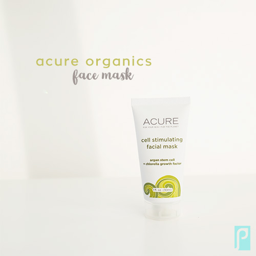 Acure Organics Vegan Cell Stimulating Facial Mask