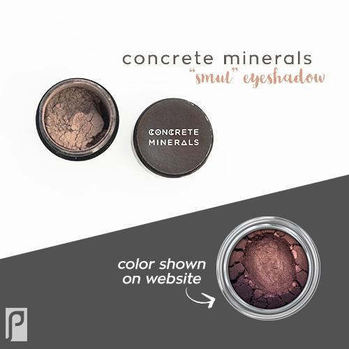 Concrete Minerals SMUT mineral eyeshadow