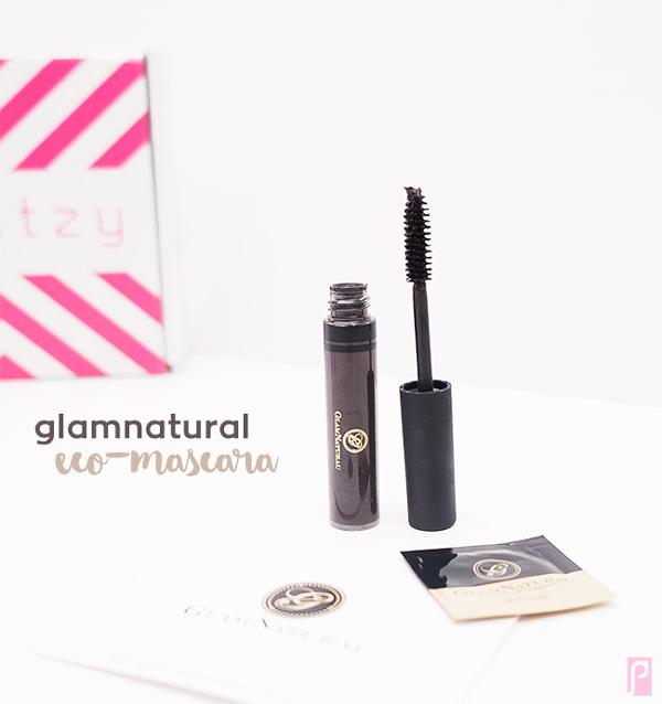 GlamNatural Vegan Eco-Mascara (Brown) - Included in December Vegan LaRitzy Beauty Box