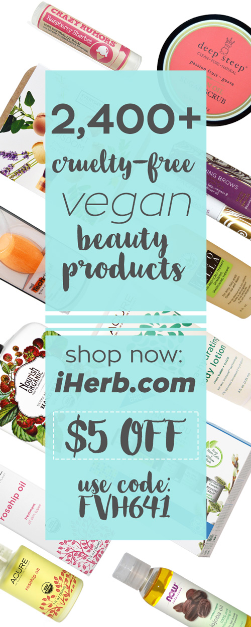 Save $5 off your first order on iHerb!