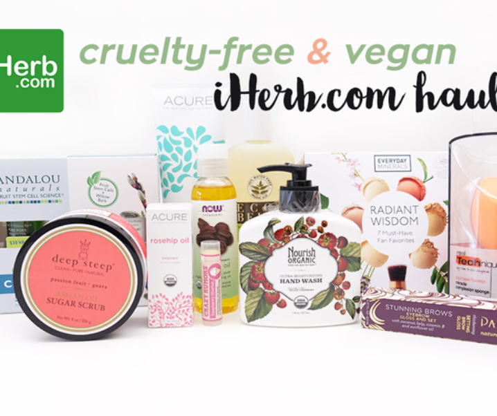 Why iHerb is the One-Stop Shop for Cruelty-free and Vegan Beauty Products + Giveaway!