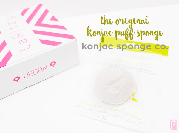 Original Konjac Sponge - Included in December Vegan LaRitzy Beauty Box