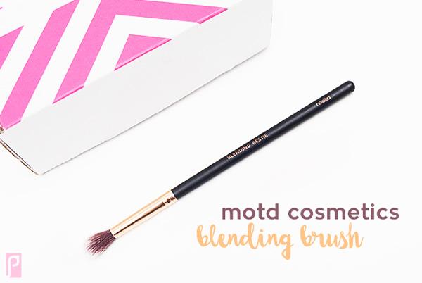MOTD Cosmetics Blending Vegan Brush - Included in December Vegan LaRitzy Beauty Box