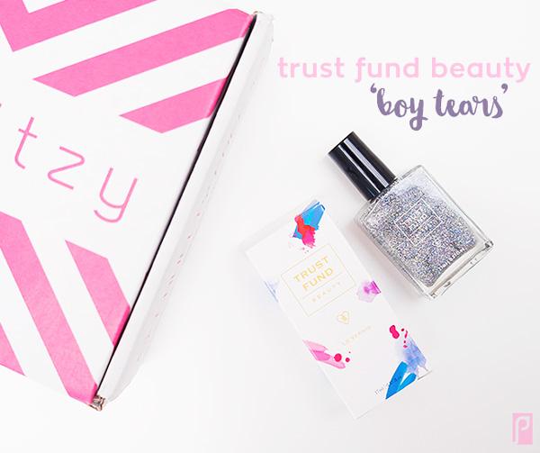 Trust Fund Beauty in 'Boy Tears' - Included in December Vegan LaRitzy Beauty Box