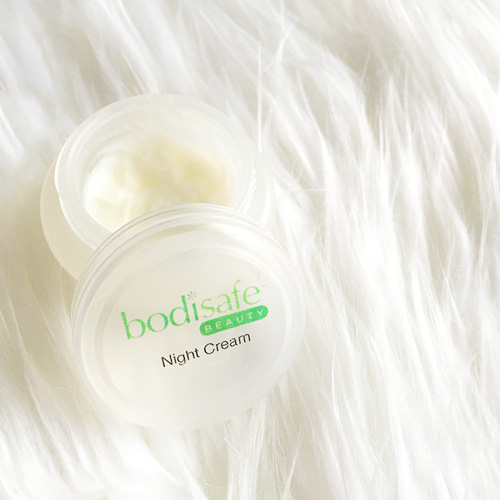 All-in-one night cream by bodisafe is an absolute favourite of mine!
