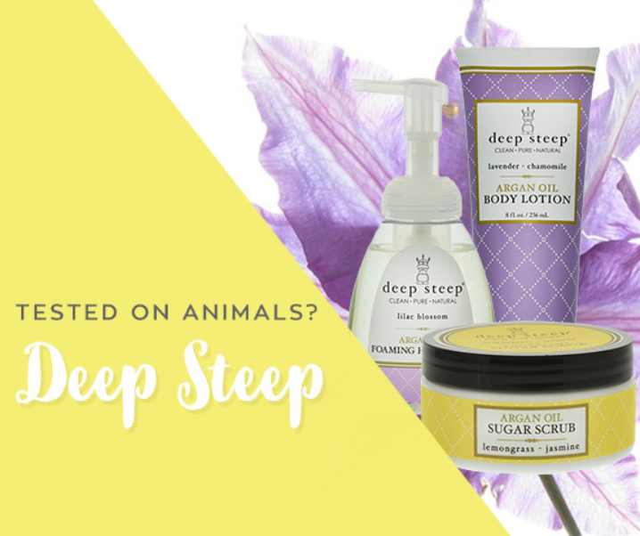 Deep Steep's Animal Testing Policy; Cruelty-free & Vegan!