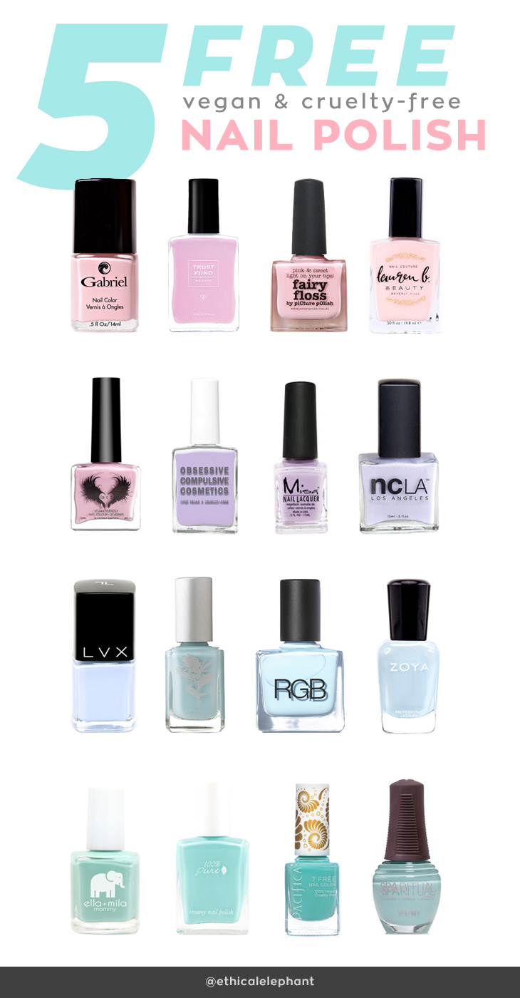 5-Free-Vegan-Cruelty-Free-Nail-Polishes