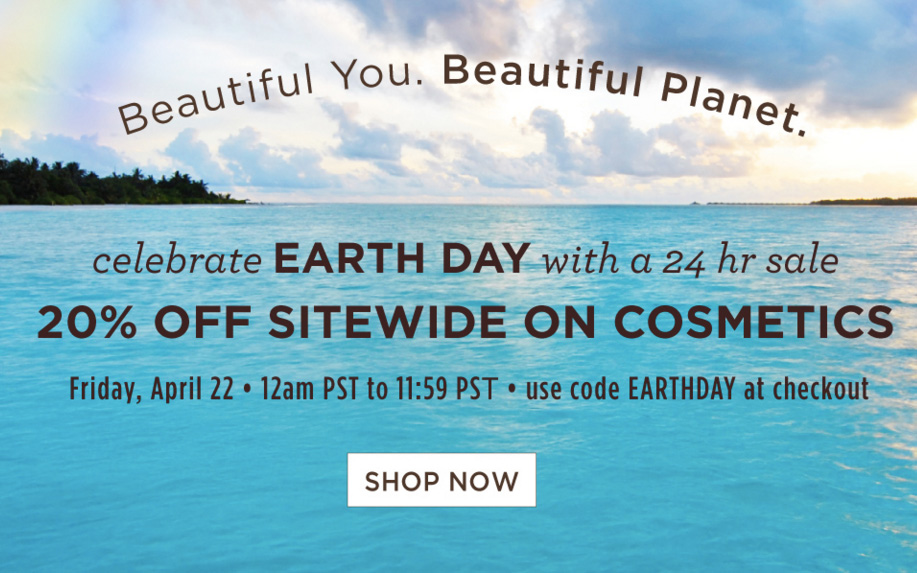 Pacifica Earth Day Sale