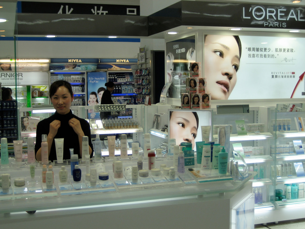 Cosmetics Sold in China