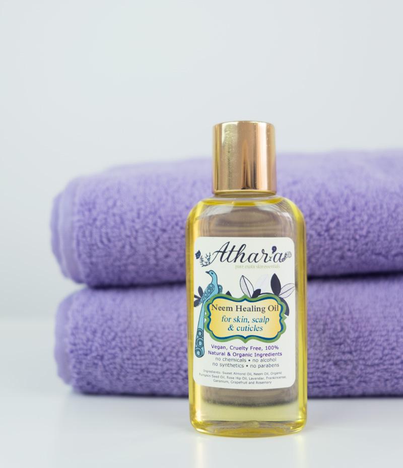 Athar'a Pure Vegan Neem Healing Oil
