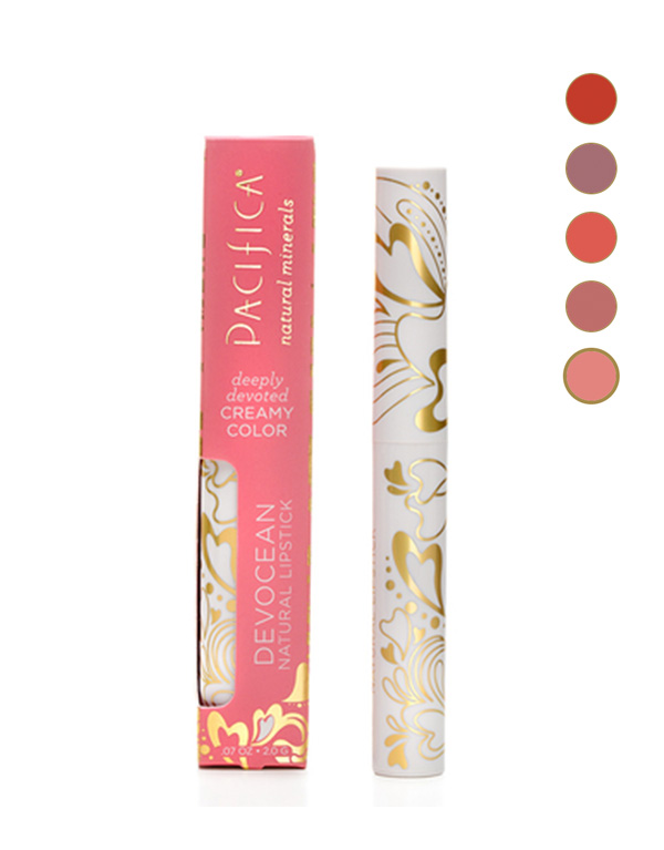 Pacifica Vegan Lipsticks