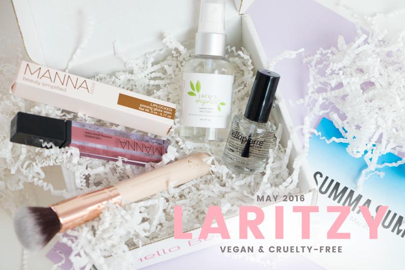 What's Inside LaRitzy's May 2016 Vegan Beauty Box?
