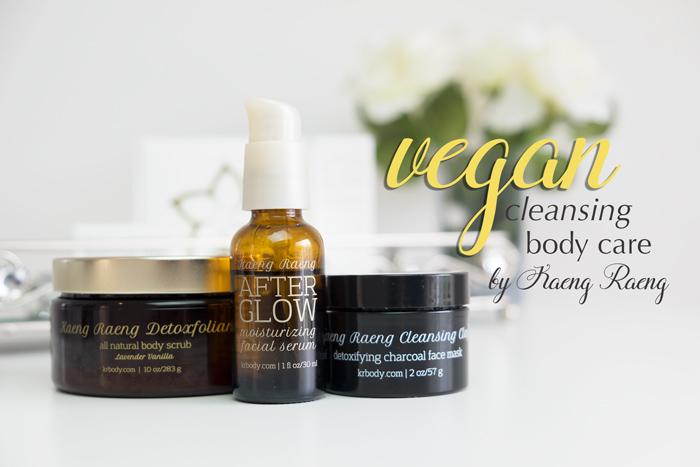 Kaeng Raeng Vegan Cleansing Skincare Products