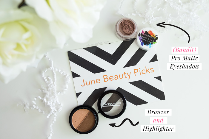 LaRitzy June 2016 - Filled with lots of vegan makeup products