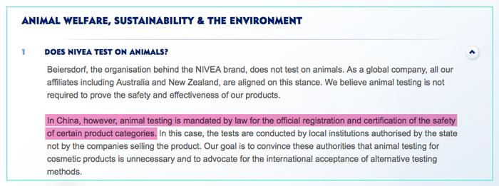 Nivea-Tests-On-Animals