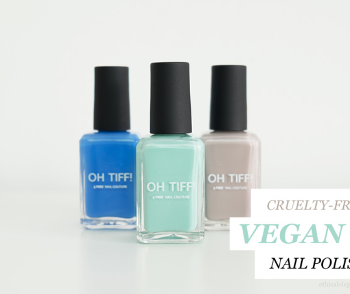 OH TIFF! Vegan, 5-Free Nail Polish Review