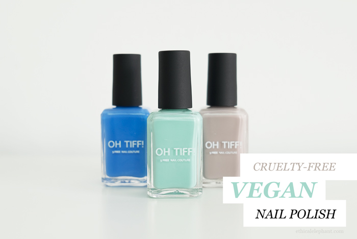 Review: OH TIFF! Vegan, 5-Free Nail Polish