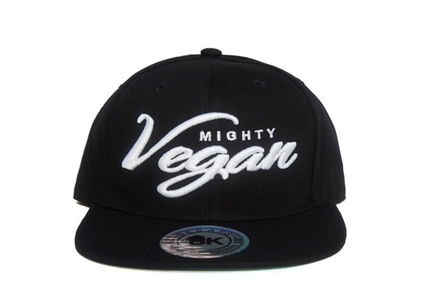 Vegan Snapback // Mighty Vegan Apparel