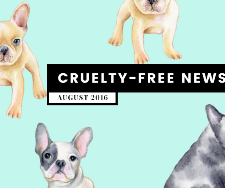 What's Up? Cruelty-Free Beauty News (Aug 2016)