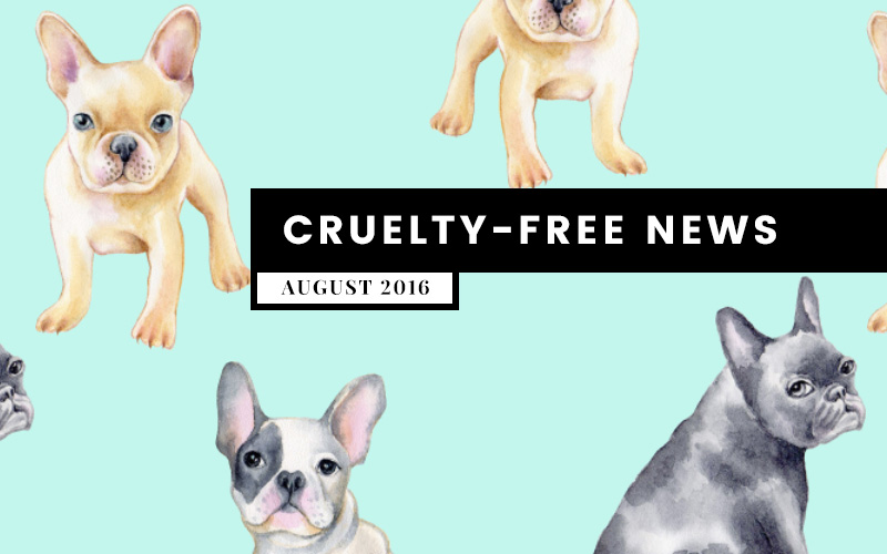 What's Up? Cruelty-Free Beauty News for the month of August