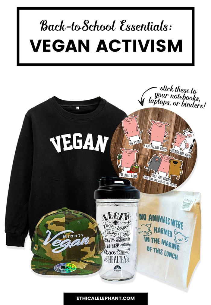Back to school essentials for vegan activist