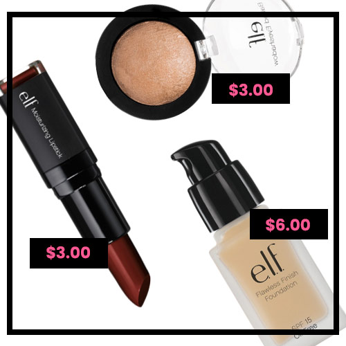 elf cosmetics is a super affordable cruelty-free and vegan makeup option!