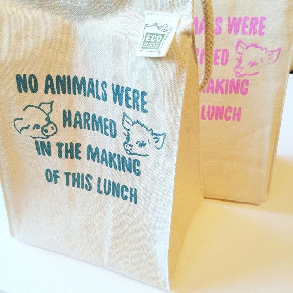 Vegan Lunch Bag // Vegan Police
